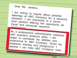 written cover letter 5 ways to write a cover letter wikihow