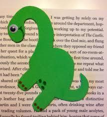 dinosaur bookmark creative crafts for creative kids
