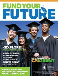 Cal Grant Income Ceiling 2014 by Fund Your Future By Patti Colston Issuu