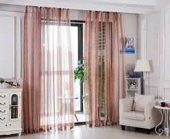 Embroidered Sheer Curtains Myru High Quality Embroidered Sheer Curtains Striped Window