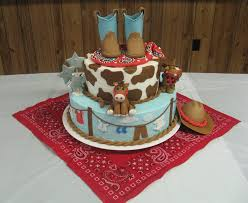 western theme baby shower cake want this for my baby shower