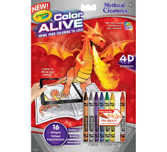 color alive combo pack skylanders and mythical creatures crayola