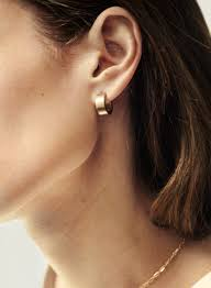 hoop earrings corte hoop earrings lombardi jewelry