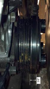 serpentine belt misaligned belt keeps coming off pulleys and