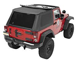 jeep wrangler unlimited sport soft top truck aftermarket parts