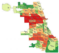 Maps Of Chicago Neighborhoods by 2016 Chicago Auto Thefts