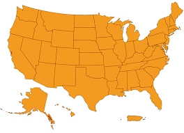 map of usa states denver the top imported in each state in one map cat and
