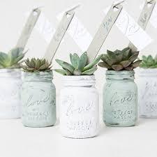 jar favors mini jar with lid jar wedding favors the knot shop