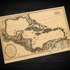 Caribbean Sea Map by Compare Prices On Map Caribbean Online Shopping Buy Low Price Map