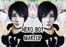 neko boy makeup youtube