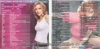 Album Inserts Madonna Collector Cz Hard Candy 2008 Warner Philippines Pink