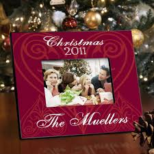 personalized christmas picture frame all