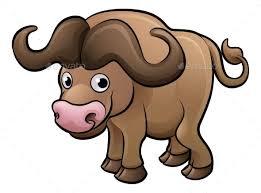 safari cartoon bison safari animals cartoon character by krisdog graphicriver