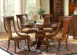 excellent round pedestal dining table ashley home decor