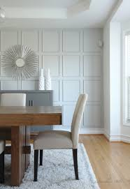 27 stylish dining room decor ideas to impress your guests wall treatment with thin moulding instead of traditional board and batten neutral dining roomsdining
