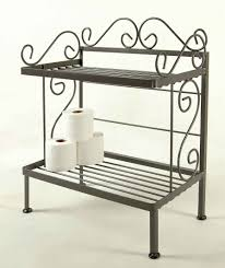 Bathroom Racks And Shelves by Grace Bathroom Storage Racks For Towels And Bath Room Tissue