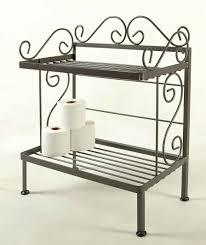 Storage Shelves For Bathroom by Grace Bathroom Storage Racks For Towels And Bath Room Tissue