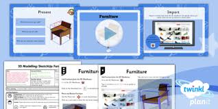 planit computing year 5 3d modelling sketchup lesson 4