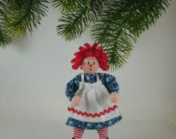raggedy ornament etsy