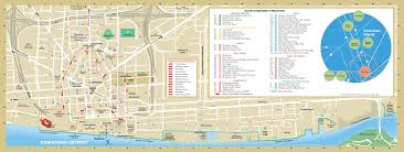 Riverwalk Map Detroit Downtown Map U2022 Mapsof Net