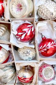 647 best vintage glass ornaments images on