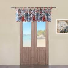 Coral And Gray Curtains Coral And Gray Window Curtains Wayfair