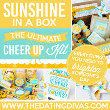 cheer up care package ultimate cheer up kit