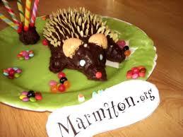 marmitons recettes cuisine photo 2 de recette gâteau d anniversaire hérisson marmiton