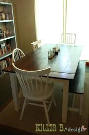 handmade kitchen furniture handmade kitchen chairs handmade farmhouse table and bench white