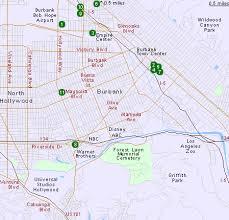 map of burbank ca hotels in burbank ca los angeles hotels california
