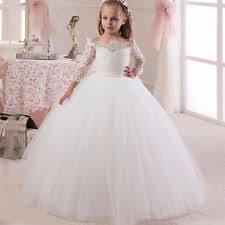 robe fille pour mariage vêtements de cérémonie mariage fille ivoire pour fille ebay