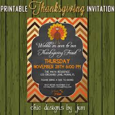 thanksgiving invitations printable where to buy 2015 thanksgiving invitation diy printable turkey