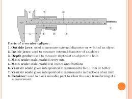 vernier caliper and micrometer