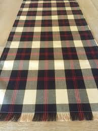 custom plaid table runner english christmas tablecloth