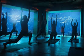 atlantis the palm announce the biggest underwater yoga class in