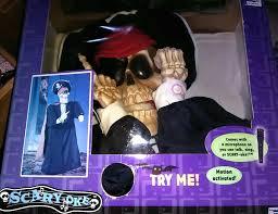 image animated talking pirate skeleton motion sensor halloween