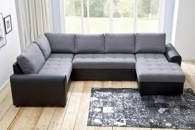 Wohnzimmer Couch Poco Wohnlandschaft Molly Grau Schwarz U0026 9654 Online Bei Poco Kaufen