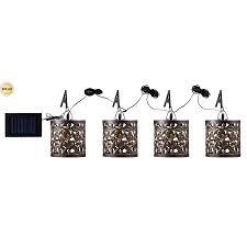 solar umbrella clip lights shop kenroy home 4 375 in light at lowes com