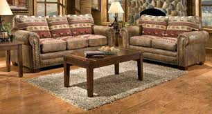 Furniture Of Living Room Western Living Furniture Modern Brown Faux Leather Upholstery
