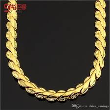 gold short chain necklace images Wholesale hip hop lace short chain men and women fashion necklace jpg