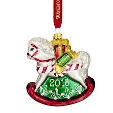waterford baby s ornament rocking 2016