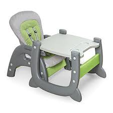high chair converts to table and chair badger basket envee ii baby high chair with playtable conversion