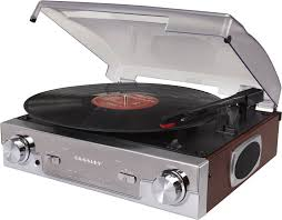 Crosley Radio Parts Crosley Cr6005a Ma Tech Turntable With Am Fm Radio And Portable