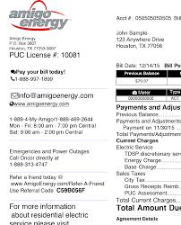light bill assistance programs 855 449 1899 customer support understanding my bill amigo energy