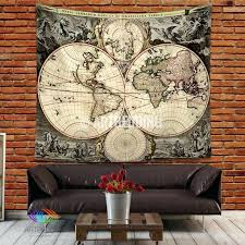 home decor world wall ideas usa map wall decor 3 pieces modern wall painting on
