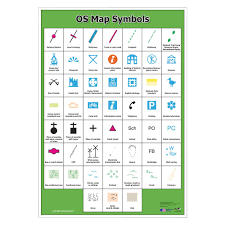 Weather Map Symbols Os Map Symbols Poster Skills And Fieldwork Geography