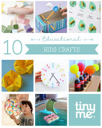 10 educational kids crafts tinyme blog