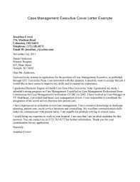 manager cover letter templates entry level case management cover letter sample cover letter