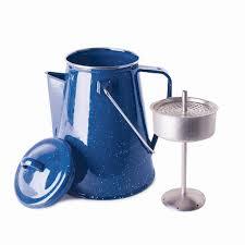 Coffee Pot enamel percolator coffee pot 8 cup stansport