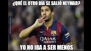 Suarez Memes - barcelona memes por el hat trick de luis suárez deportes trome pe
